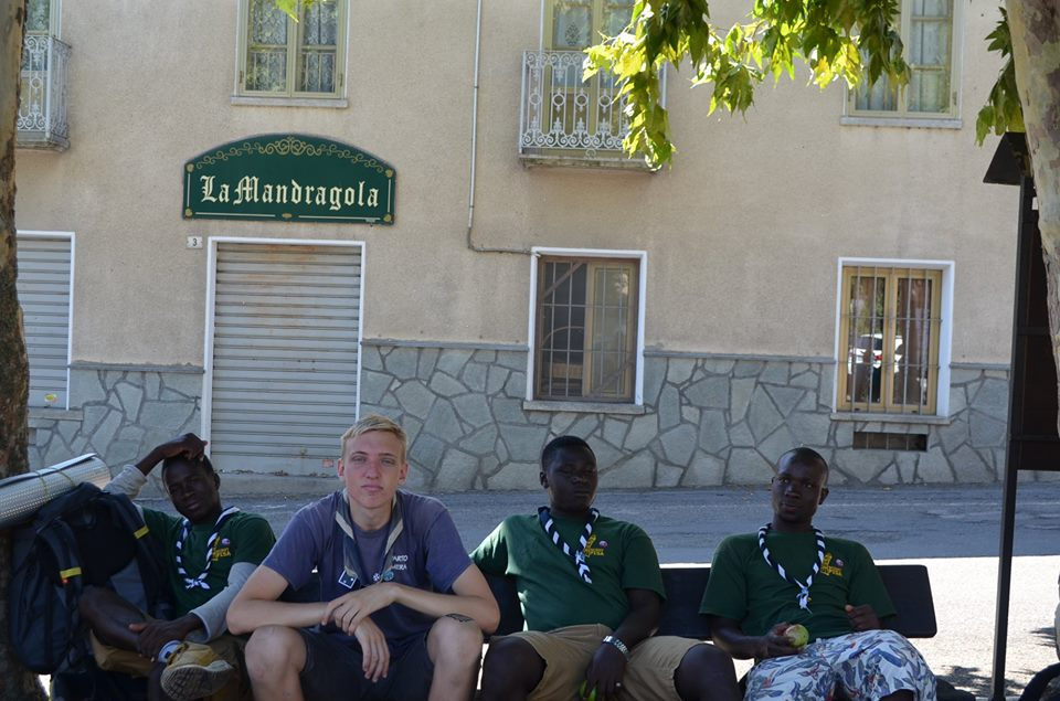 accoglienza scout CNGEI Pisa