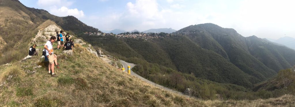 scout cngei in montagna bergamo